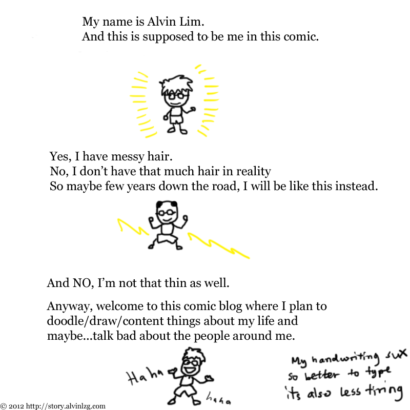 #1: I am Alvin